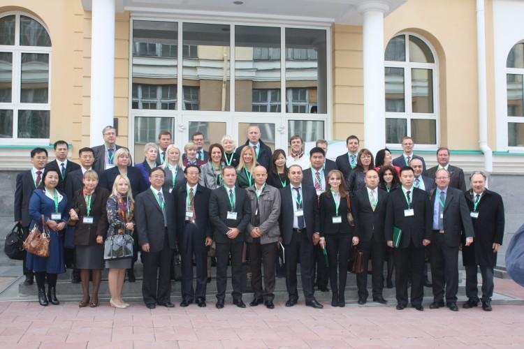 Группа участников конференции