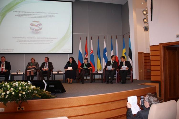 Слева направо: С. Кихлген, И. Бозе, В. Чегликас, А. Аленова, Д. Варгава,  Ду Ванхуа