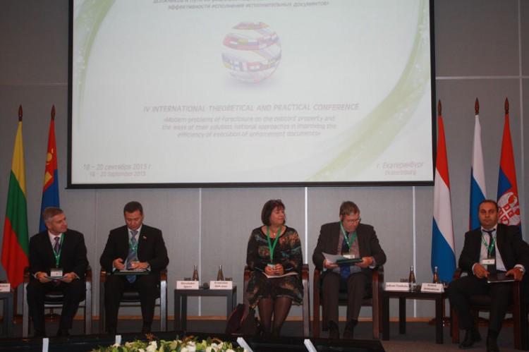Слева направо: А. Парфенчиков, А. Агеев,  Ф. Андрие, Ю. Тоукола, А.Арутюнян